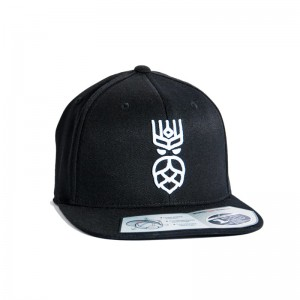 CZAPKA PERUN FITTED SNAPBACK - BLACK